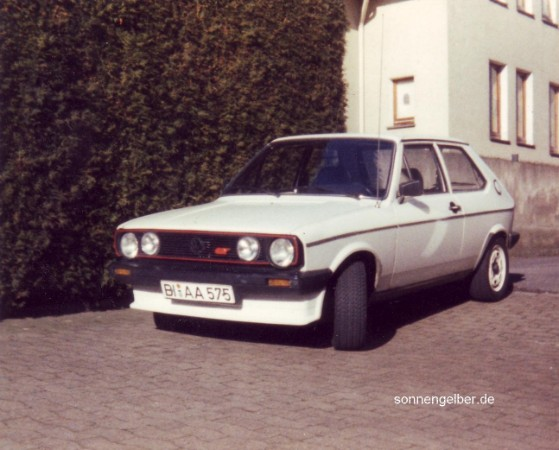 Lang ist s her for Vw polo breite mit spiegel